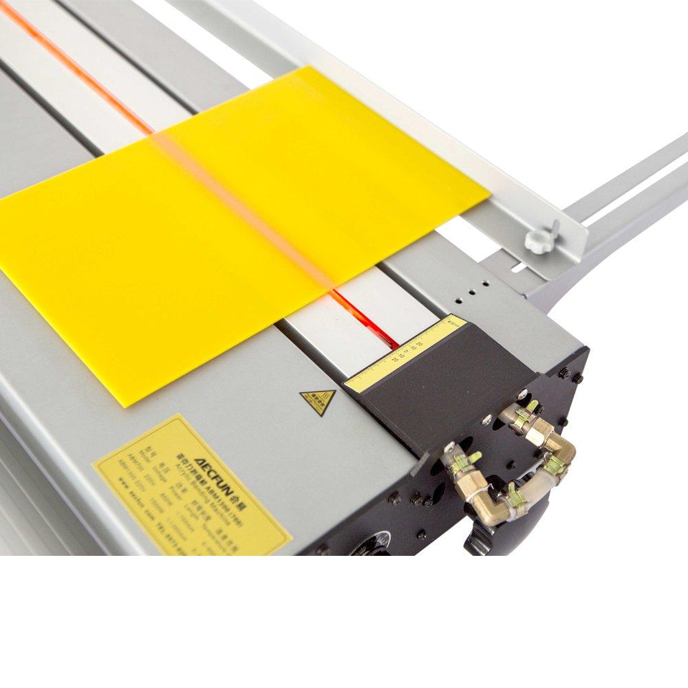 US Stock - H-E 52'' (1300mm) Upgraded Acrylic Lightbox Plastic PVC Bending Machine Acrylic Heater Bender 220V