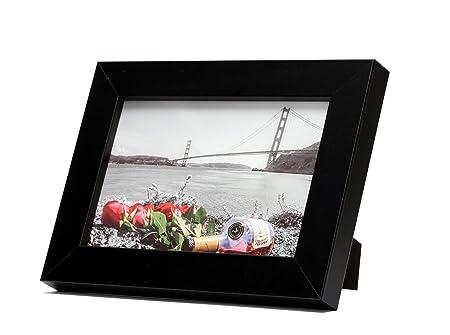Frametory mesa negro marcos hecho a pantalla 4 x 6 pulgadas Fotos ...