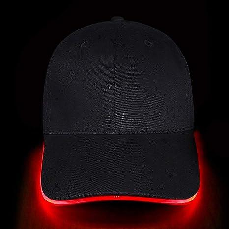 KABB Gorra de béisbol luz LED, para Deportes, Viajes, Fiestas ...