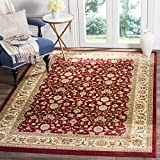 Safavieh Lyndhurst Collection LNH312A Traditional Oriental Red and Ivory Area Rug (8′ x 11′) For Sale
