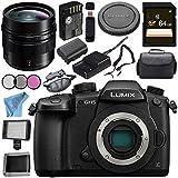 Panasonic Lumix DC-GH5 DC-GH5KBODY Mirrorless Micro Four Thirds Digital Camera Leica DG Summilux 12mm f/1.4 ASPH. Lens Bundle