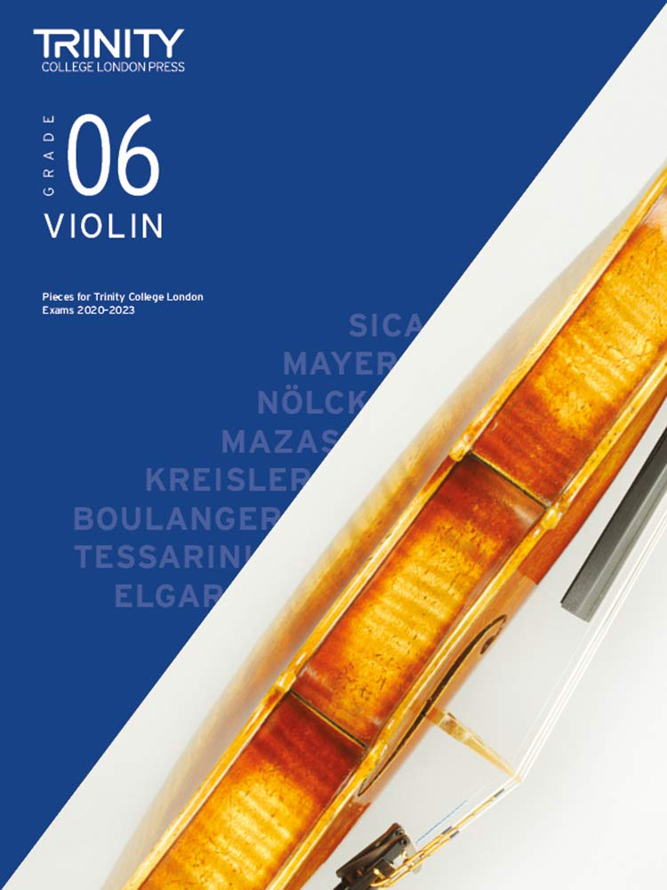 Trinity College London Violin Exam Pieces 2020-2023: Grade 6