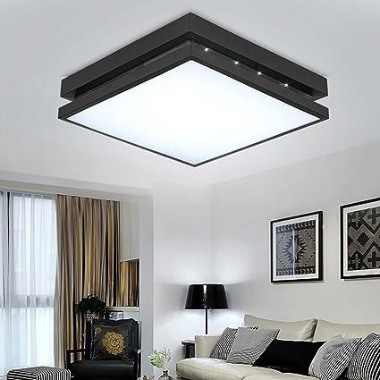 Amazon.com: DIDIDD Ceiling light- simple modern square led acrylic ...