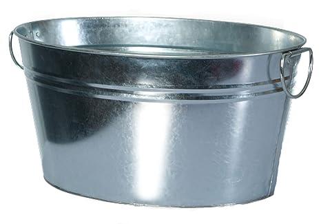 Vasca Da Bagno Di Zinco : Frigocantina con manici zinco vasca secchio di ghiaccio