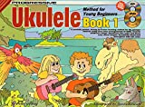 img - for CP15002 - Progressive Ukulele Method for Young Beginners Book 1 Bk/CD/DVD book / textbook / text book