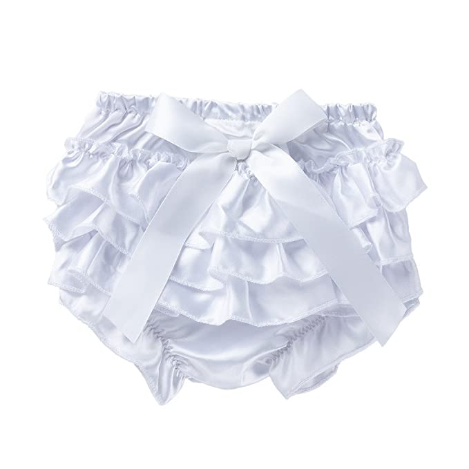 ALIKEEY Toddler Baby Infant Girl Bowknot Ruffle Bloomer Nappy Ropa Interior Panty Pañal Laterales A AlimentacióN