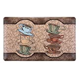 Kitchen Rugs Coffee Cups Masione Comfort Kitchen Floor Standing Desk Mat 18