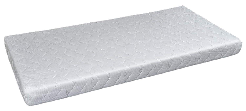 completo letto/&casa+materasso ECO,stile scandinavo,legno,bambino 190x90cm colore del letto: bianco