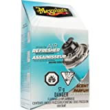 Meguiar's Air Refresher - New Car Scent, Single Use Odour Eliminator, 57g - G16402C (Packaging May Vary)