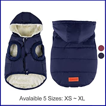 Amazon.com: Urijk - Chaqueta con capucha para perro ...