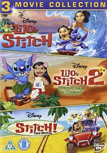 Lilo & Stitch / Lilo & Stitch 2 / Stitch the Movie [DVD] (Lilo Stitch Stitch And)