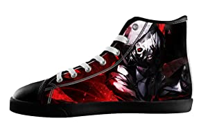 Anime Tokyo Ghoul Men's High Top Fashion Canvas Shoes-7M(US)