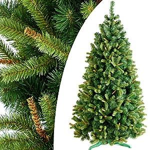 Weihnachtsbaum Künstlich Schmal.Decoking 220cm Künstlicher Weihnachtsbaum Tannenbaum Christbaum