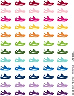 Amazon Com Monthly Planner Stickers Rainbow Barbell Workout Gym