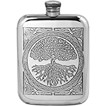 ENGLISH PEWTER COMPANY [CEL600] 6oz Pewter Hip Flask