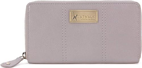 Vera Pelle Victoria Purse Borsellino//Portafoglio//Portamonete da Donna Scatola Regalo Catwalk Collection Handbags RFID Protezione
