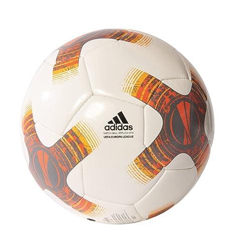 adidas Uel Mini Balón, Hombre, Blanco/Hiemet/Negro/Naruni, 1 ...