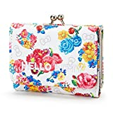 Sanrio Hello Kitty compact Coin Wallet Flower From Japan New