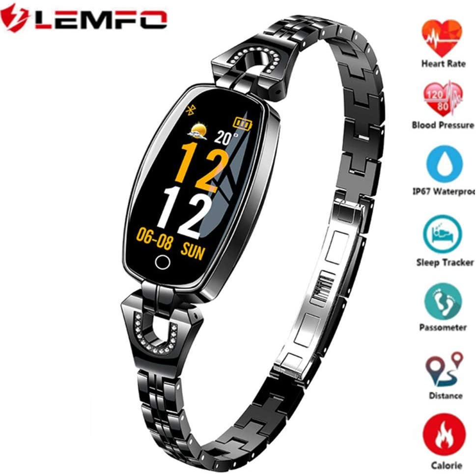 LEMFO H8 Smartwatch, IP67 Impermeable Monitor de Ritmo Cardíaco ...