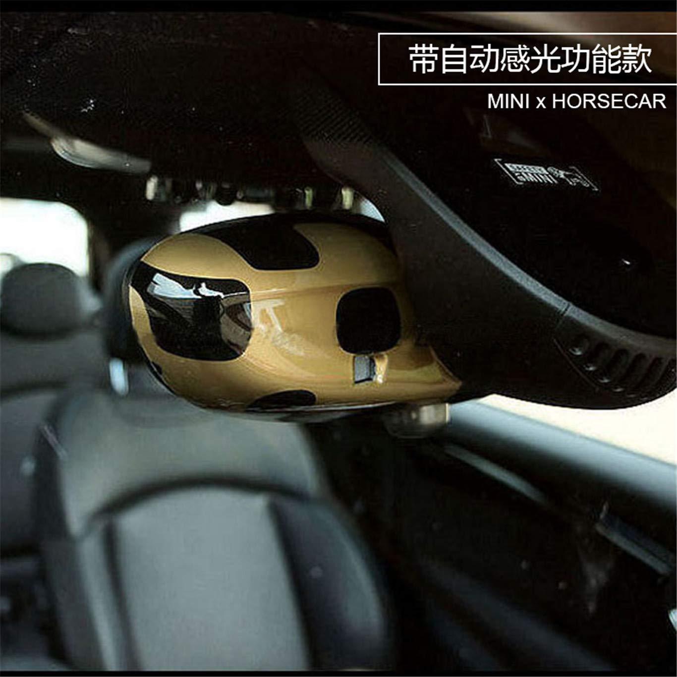 Tapa de Espejo retrovisor Interior para Mini Cooper F54 Clubman F55 Hardtop F56 Hatchback F57 Covertible F60 Countryman 2016+ HDX