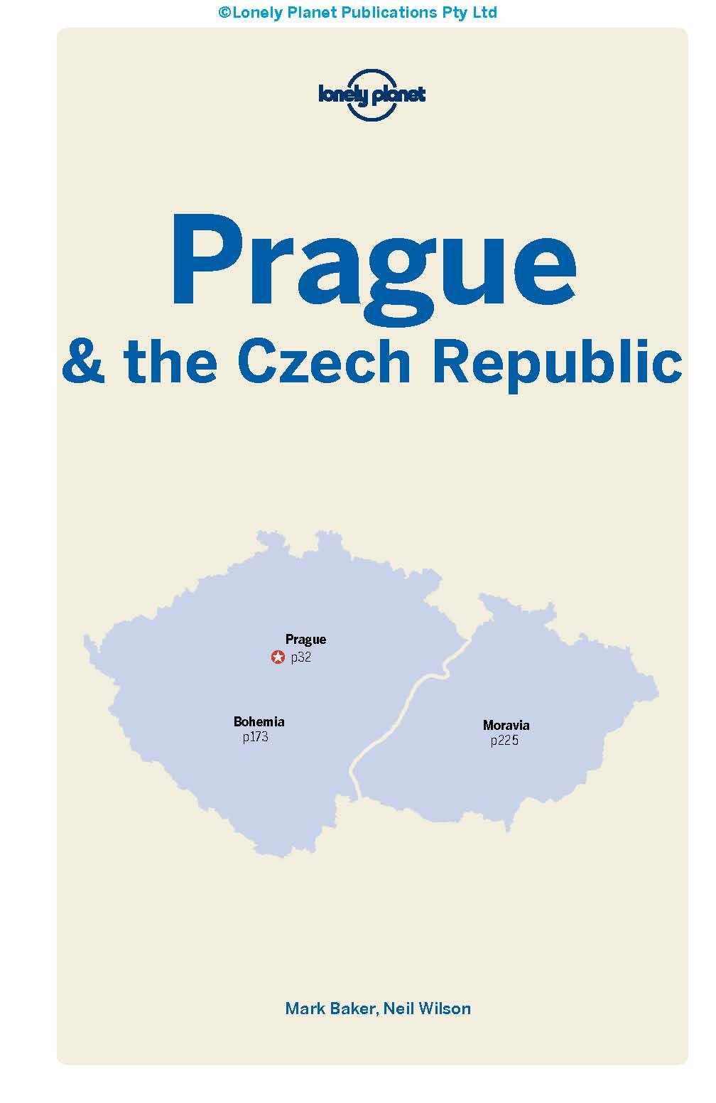 2nd Edition Lonely Planet Prague /& the Czech Republic 12th Ed.