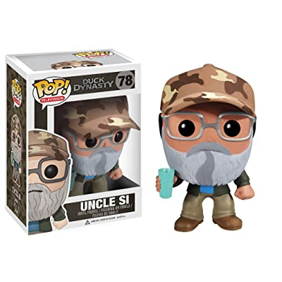 Funko POP Television Si Robertson Duck Dynasty Vinyl Figure: Funko Pop! Television: Toys & Games