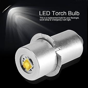 Bombilla LED de alta potencia para linterna LED, bombilla de repuesto de alta potencia,