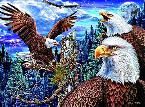 LPF 19 Eagles Collector Art 1000 pc Jigsaw Puzzle By for sale  Delivered anywhere in USA