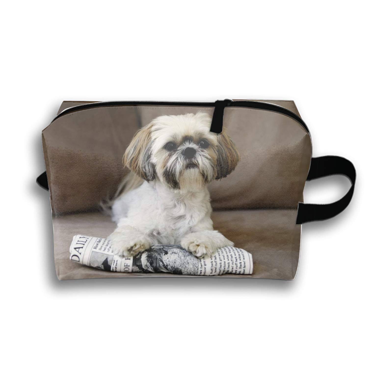 Amazon com : Women's Cosmetic Bags Little Dogs That Stay