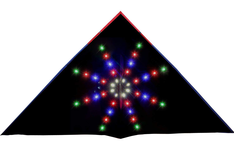 HENGDA KITE 80 LED Big Bang Night Kite Soft Cloth Umbrella Super Bright LEDs Luminous Kite by HENGDA KITE