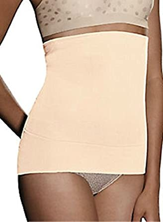 53174766eda1a Hanes Women s Seamless Firm Control Waist Cincher Style H0452 Black   Nude  (Large
