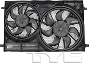 For Ford Transit Radiator/Condenser Cooling Fan Assembly 2015 16 17 18 2019 3.5L / 3.7L For FO3115211 | CK4Z-8C607-D