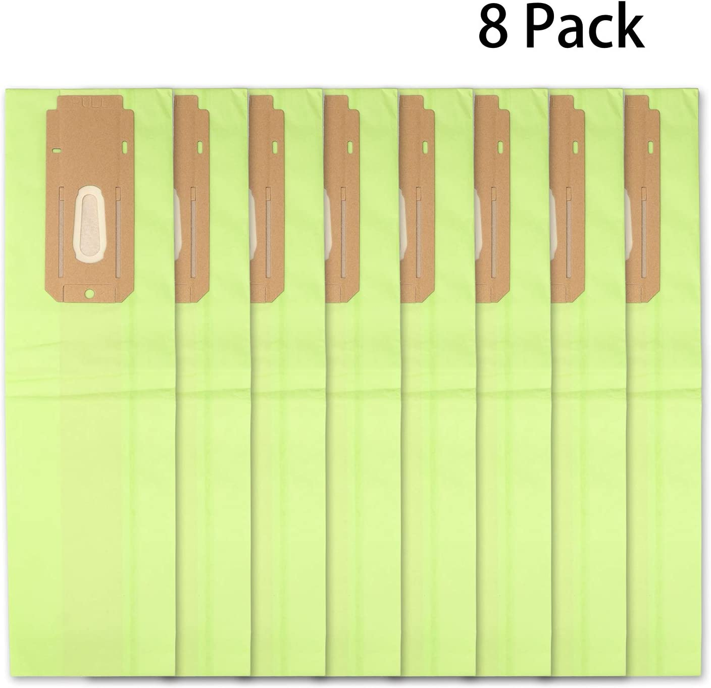 Aliddle Vacuum Cleaner Bags for Oreck Type CC,XL.Fit All Oreck XL Upright Vacuums(1 pack of 8 bags)