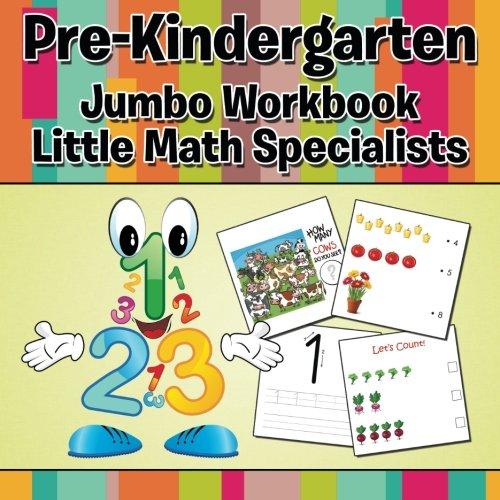 Download Pre-Kindergarten Jumbo Workbook: Little Math Specialists pdf epub