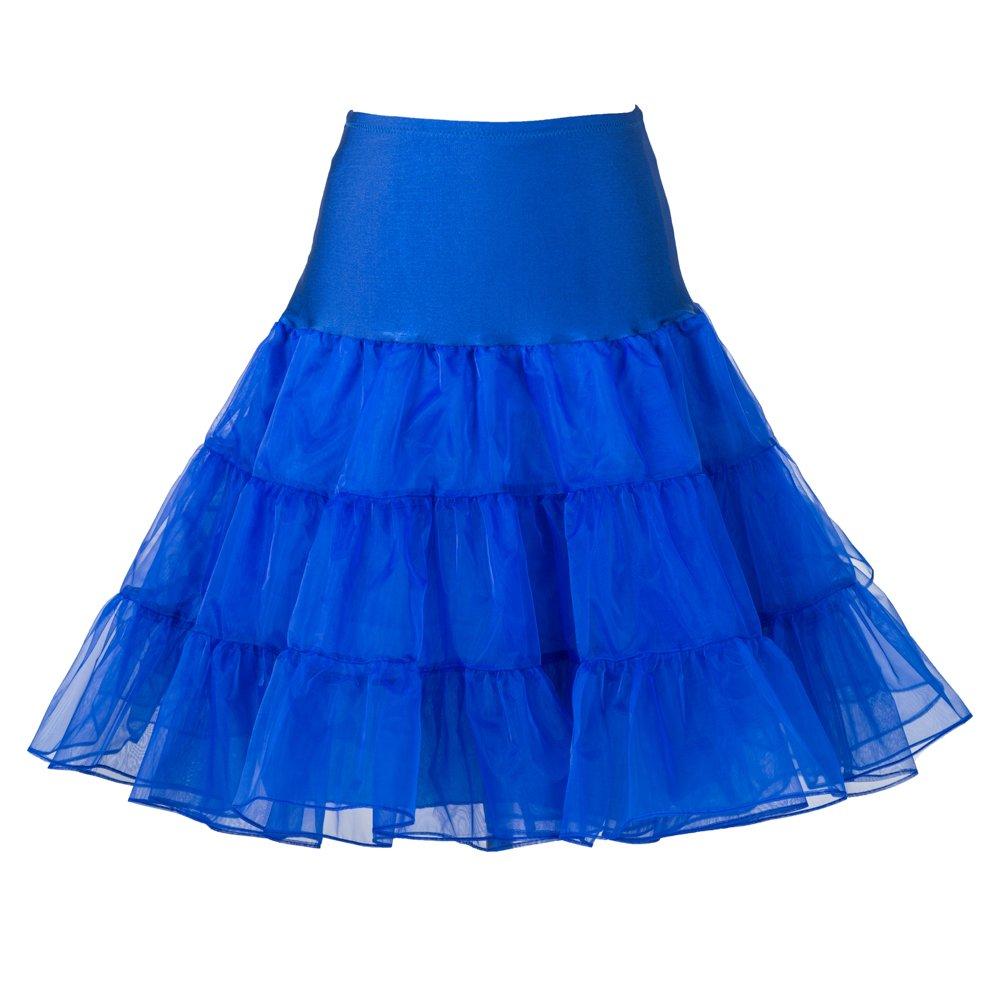 Boolavard® TM 50's 1950's 26 Rockabilly Petticoat Underskirt Retro Vintage Swing Boolevard Cosmetics Ltd.