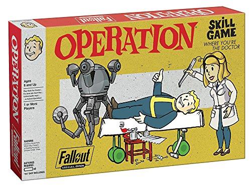 USAOPOLY Fallout S.P.E.C.I.A.L. Edition Operation Board Game -