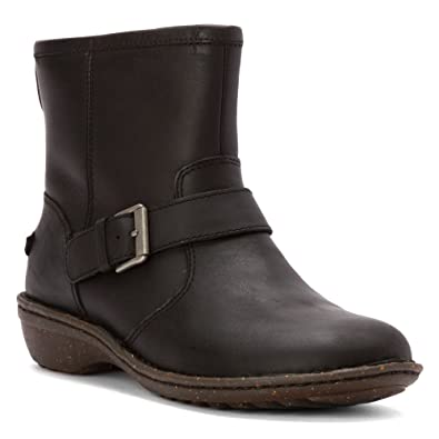 Womens Boots UGG Bryce Black Leather