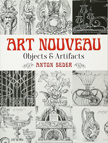 Art Nouveau: Objects and Artifacts (Dover Pictorial (Art Nouveau Ceramics)