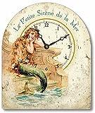 Item C1250 Vintage Style Little Mermaid Tabletop Clock Review