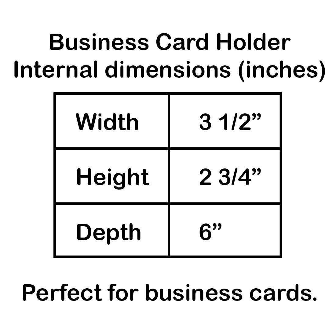Color Negro y Tapa Transparente Acrimet Organizador para Tarjetas de Presentaci/ón con Indice A-Z