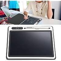 Tablet, bloco de notas LCD para escrita, ferramenta de pintura manual de caligrafia de 25 cm para estudante (preto (com…