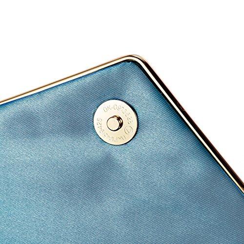 Surepromise Clutch blue Women's Surepromise Women's Blue Zx4ggq