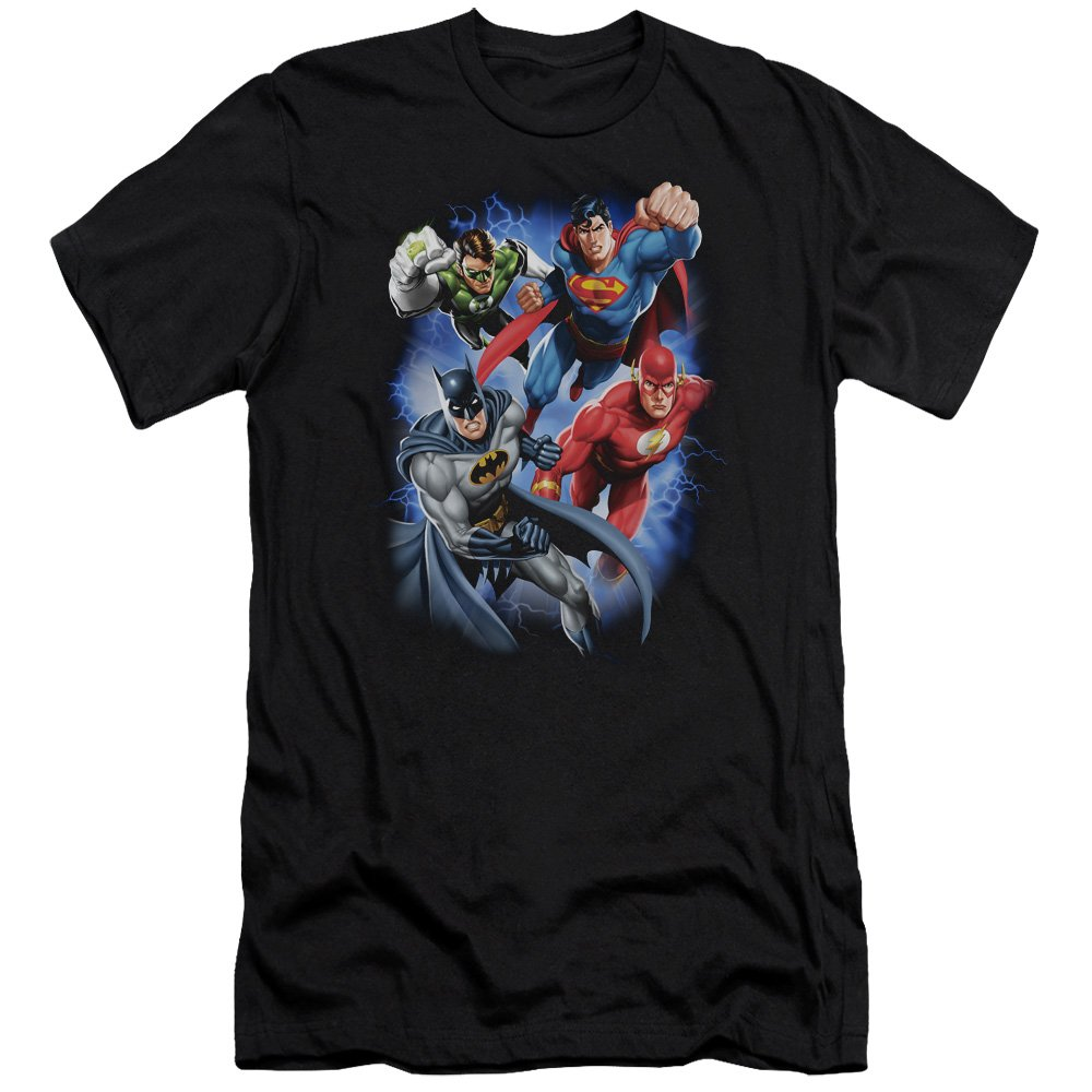 Jla Storm Makers Premium Adult Slim Fit T-Shirt