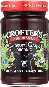 Organic Concord Grape Premium Spread; Family Size