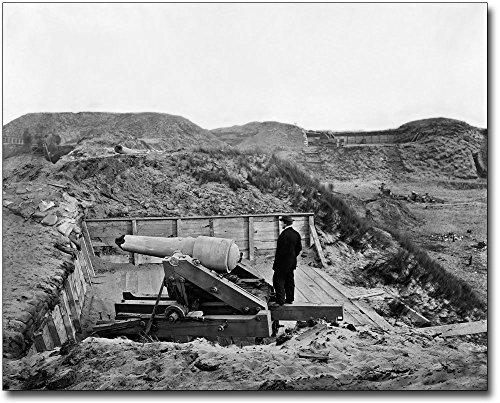 Timothy Osullivan Civil War - Fort Fisher Timothy H. OSullivan Civil War 30x40 Silver Halide Photo Print
