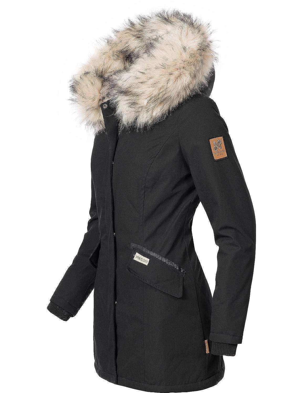 Navahoo Damen Winterjacke Winterparka Cristal 5 Farben XS-XXL  Amazon.de   Bekleidung 4283be344e