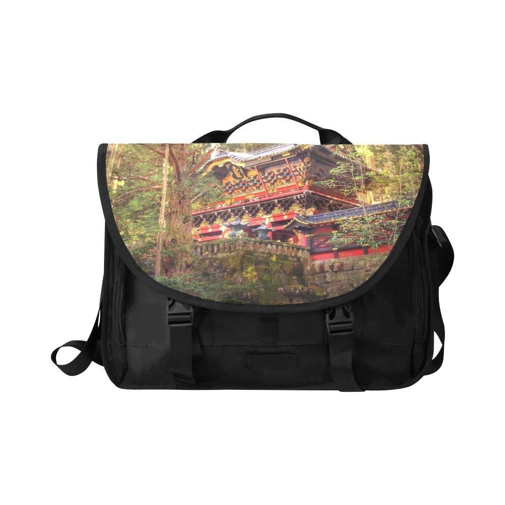 Kitchor Custom A Journey Through Japan Oxford Laptop Messenger Shoulder bag