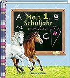 Eintragalbum - Mein 1. Schuljahr (Pferdefreunde): Ein Erinnerungsalbum