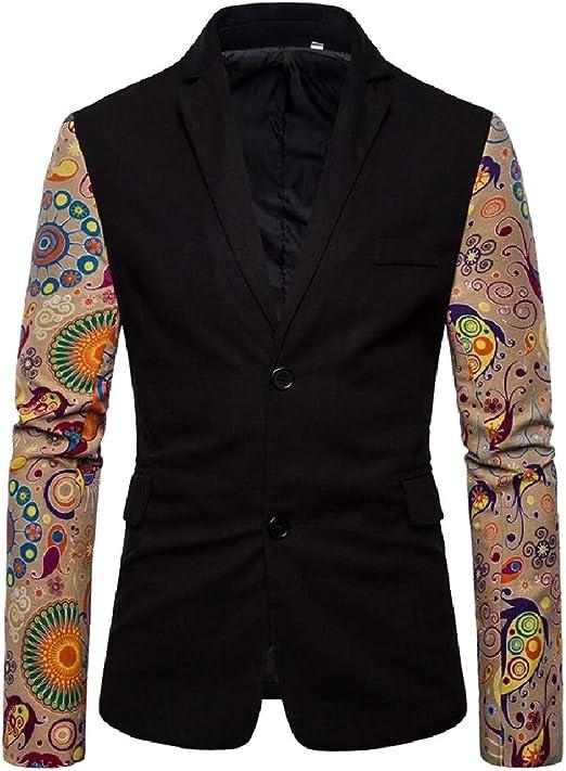 BingSai - Disfraz de Blazer de Dos Botones para Hombre con ...