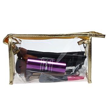 LHWY Bolsas de Maquillaje Transparente Impermeable Almacenamiento ...